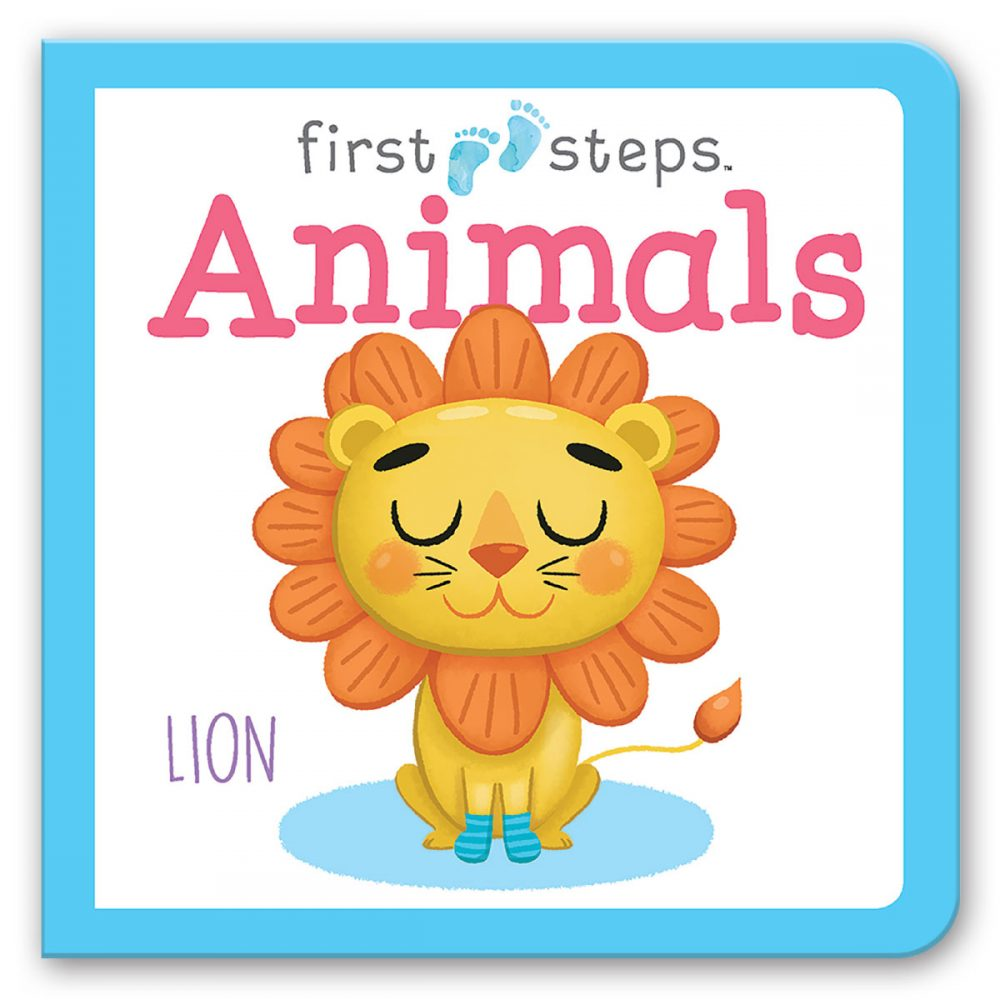 Leap Year Press Animals First Steps Board Book