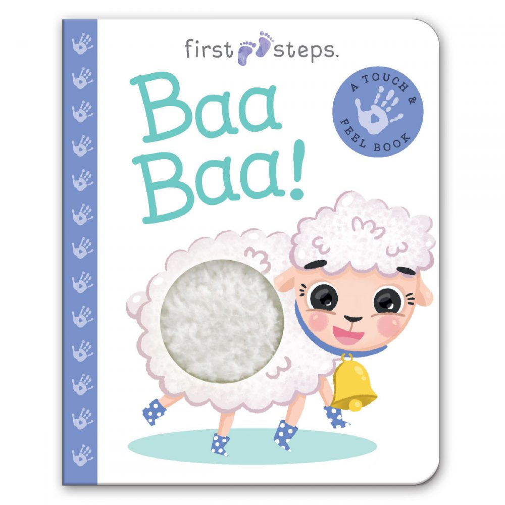 Leap Year Press First Steps Touch And Feel Board Book Baah