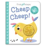 Leap Year Press First Steps Touch And Feel Board Book Cheep