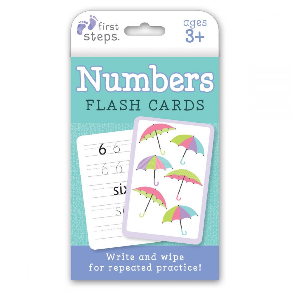 Leap Year Press First Steps Numbers Flash Cards