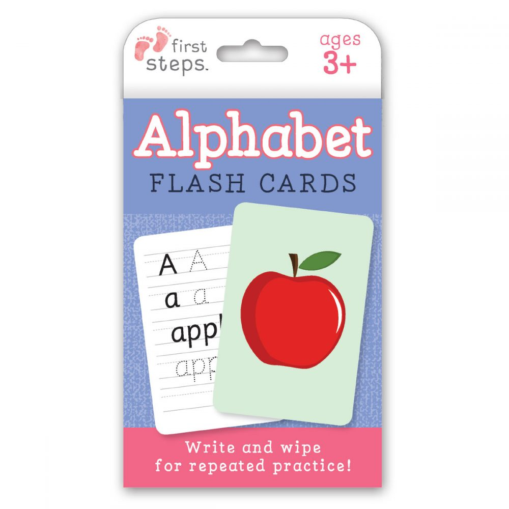 Leap Year Press Alphabet First Steps Flash Cards