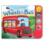 Leap Year Press Wheels On The Bus First Steps Sound Book