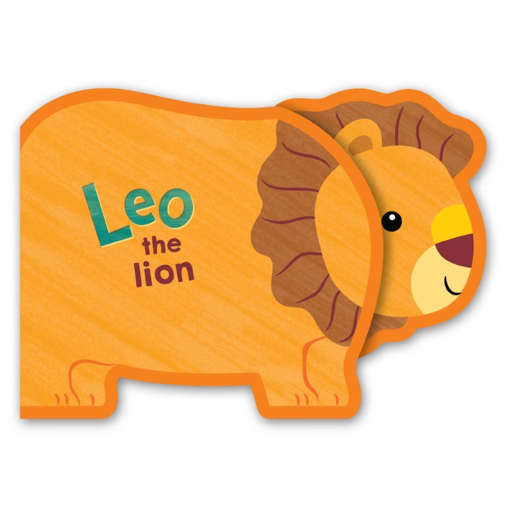 Leap Year Press Leo The Lion Chunky Animal Foam Book
