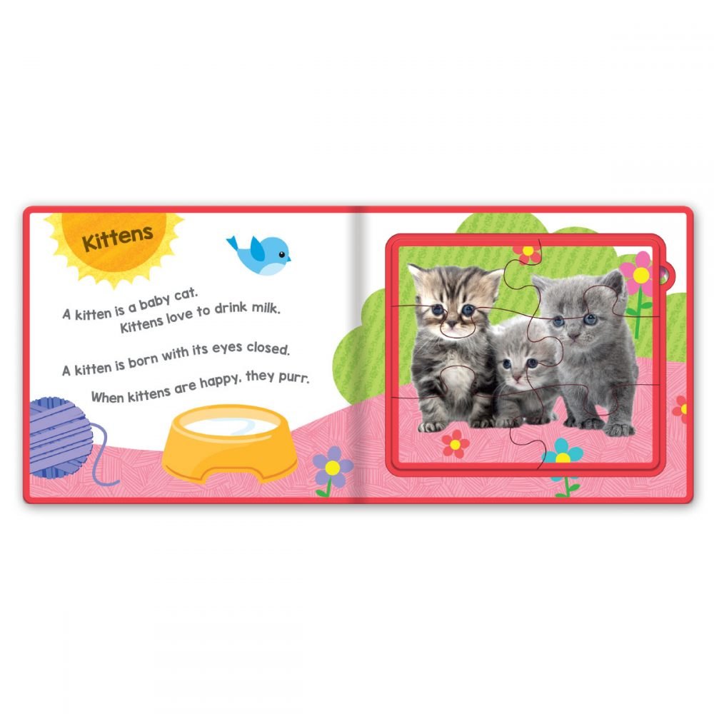 Leap Year Press Baby Animals Foam Jigsaw Book