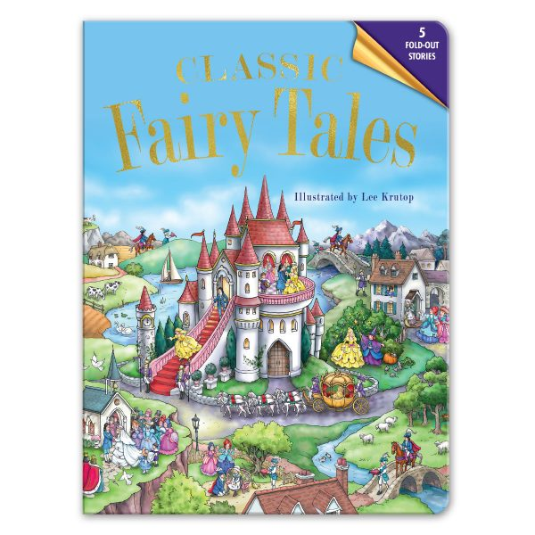 Leap Year Press Classic Fairy Tales Fold Out Book