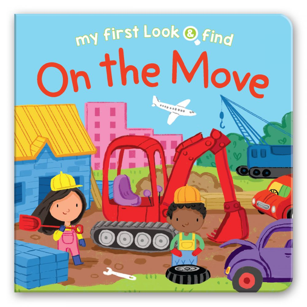 Leap Year Press On The Move My First Look & Find Board Book