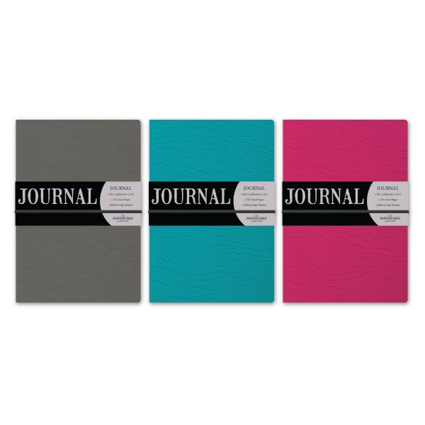Paperworks Leatherette Field Journal Assortment