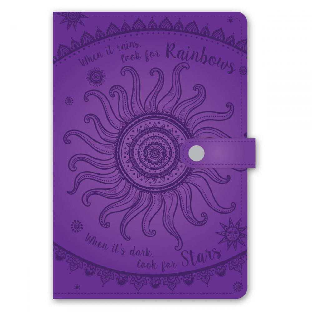 Paperworks Inspirational Debossed Leatherette Journal Assortment