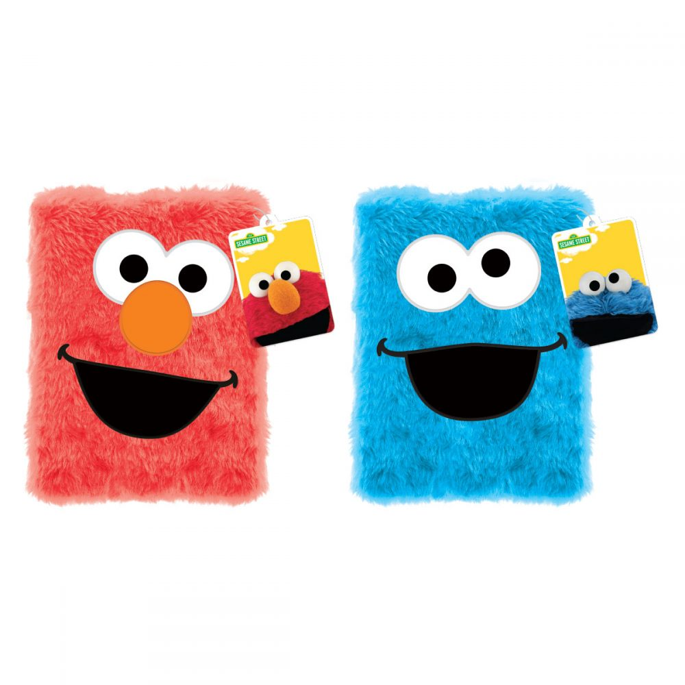 Sesame Street big furry journals