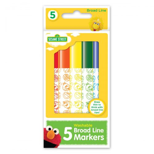 Sesame Street box of markers