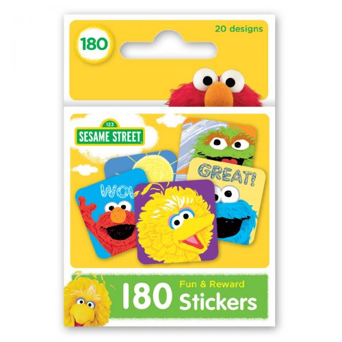 Sesame Street box of stickers