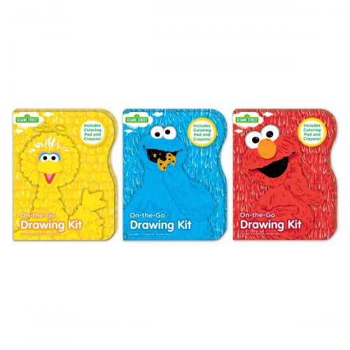 Sesame Street small drawing kit