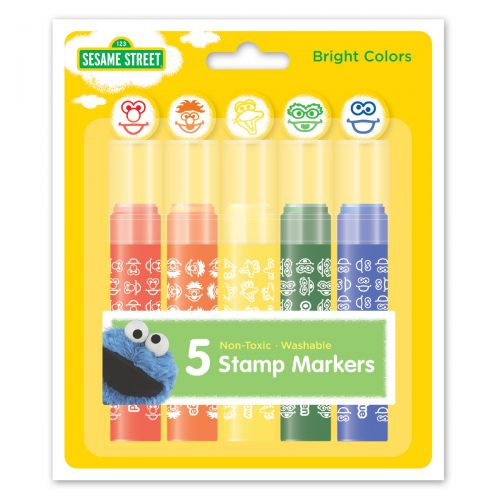 Pack of Sesame Street stamp markers