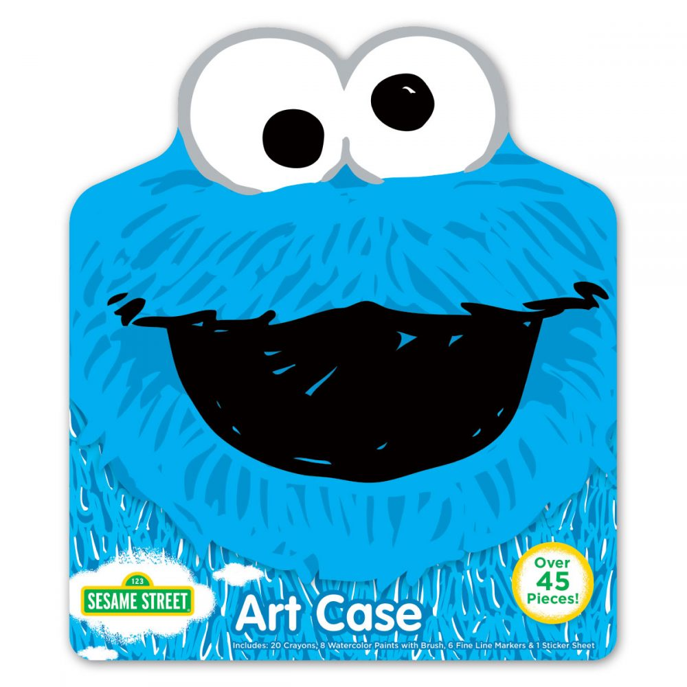 Cookie Monster art case