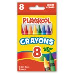 picture of a box of 8 count crayons