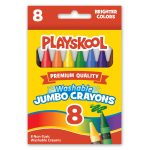 picture of box of 8 count jumbo crayons