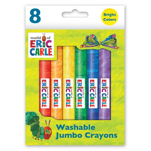 Small box of Eric Carle crayons