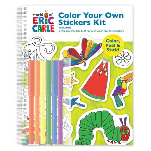 Color Your Own Stickers Kit