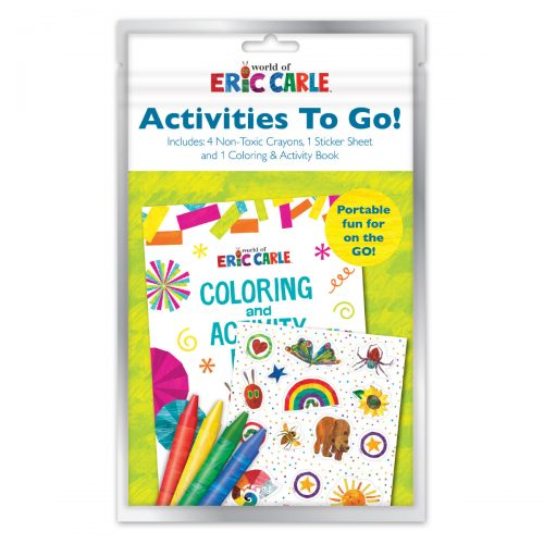 Eric Carle activities to go bag
