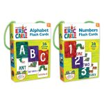 Eric Carle carry-along flash cards