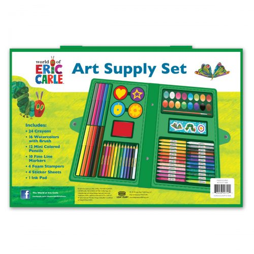 Eric Carle art supply case