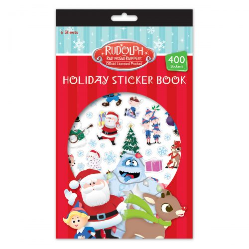 Rudolph holiday sticker book