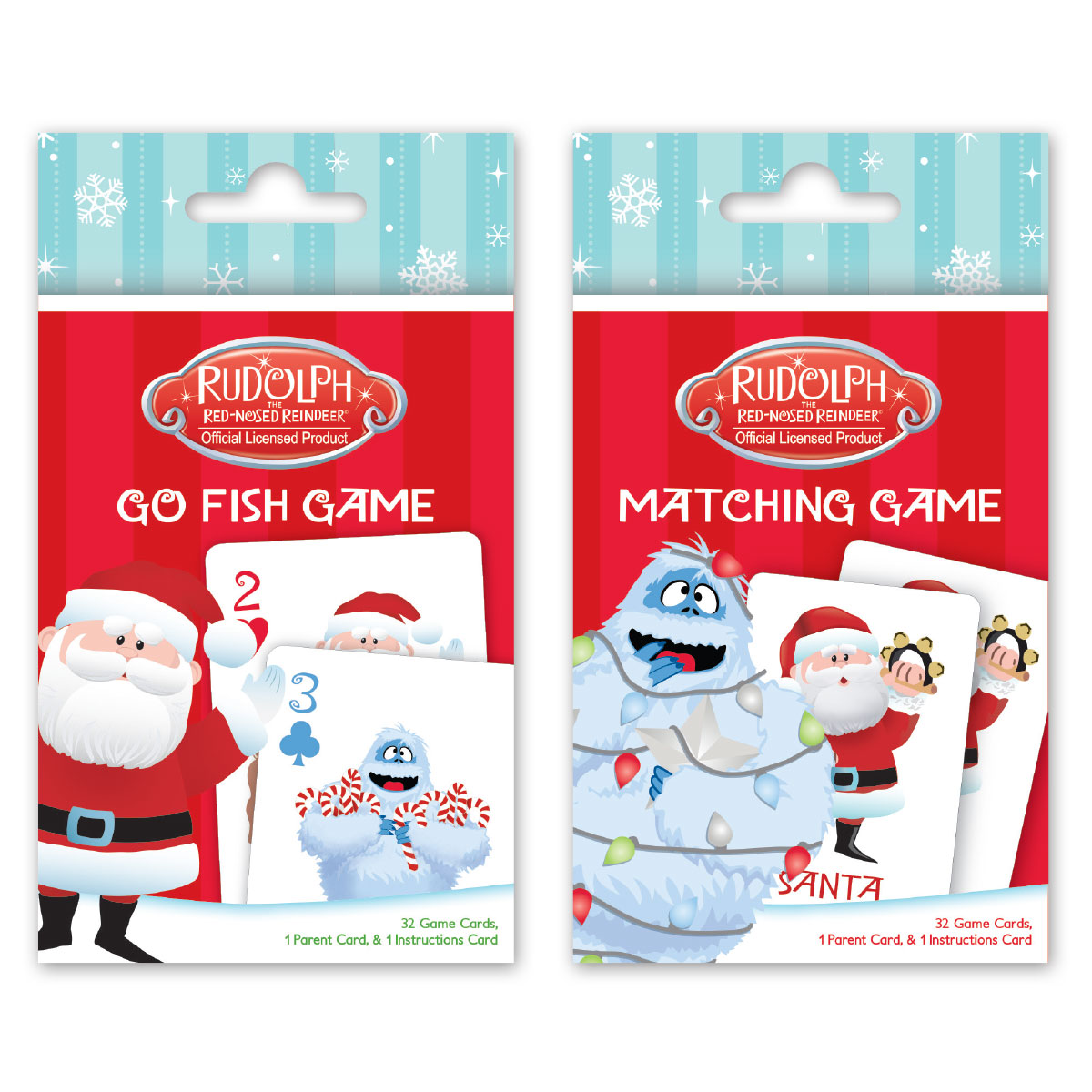 Photo of Rudolph card games