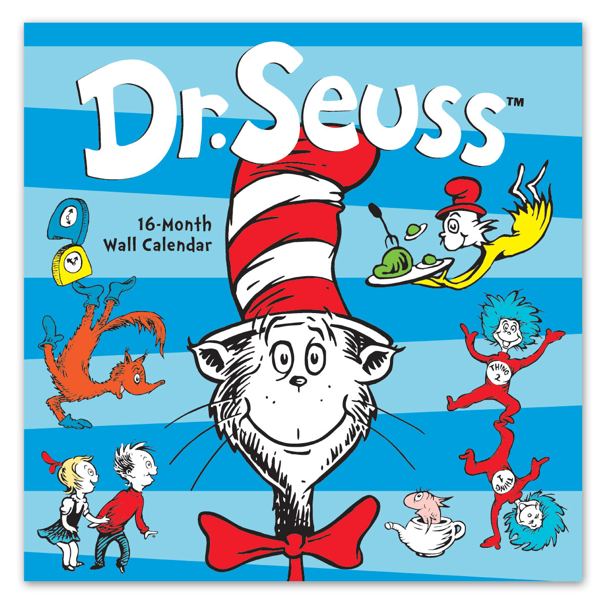 Dr Seuss Who Is He: Avalon 12″ X 12″ 2020 Wall Calendar