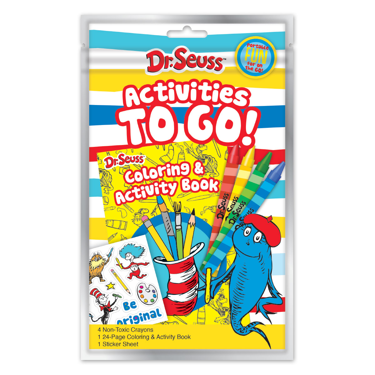 Dr. Seuss Activities to Go Bag