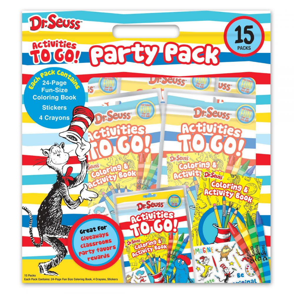 Dr. Seuss Activities to Go Party Pack