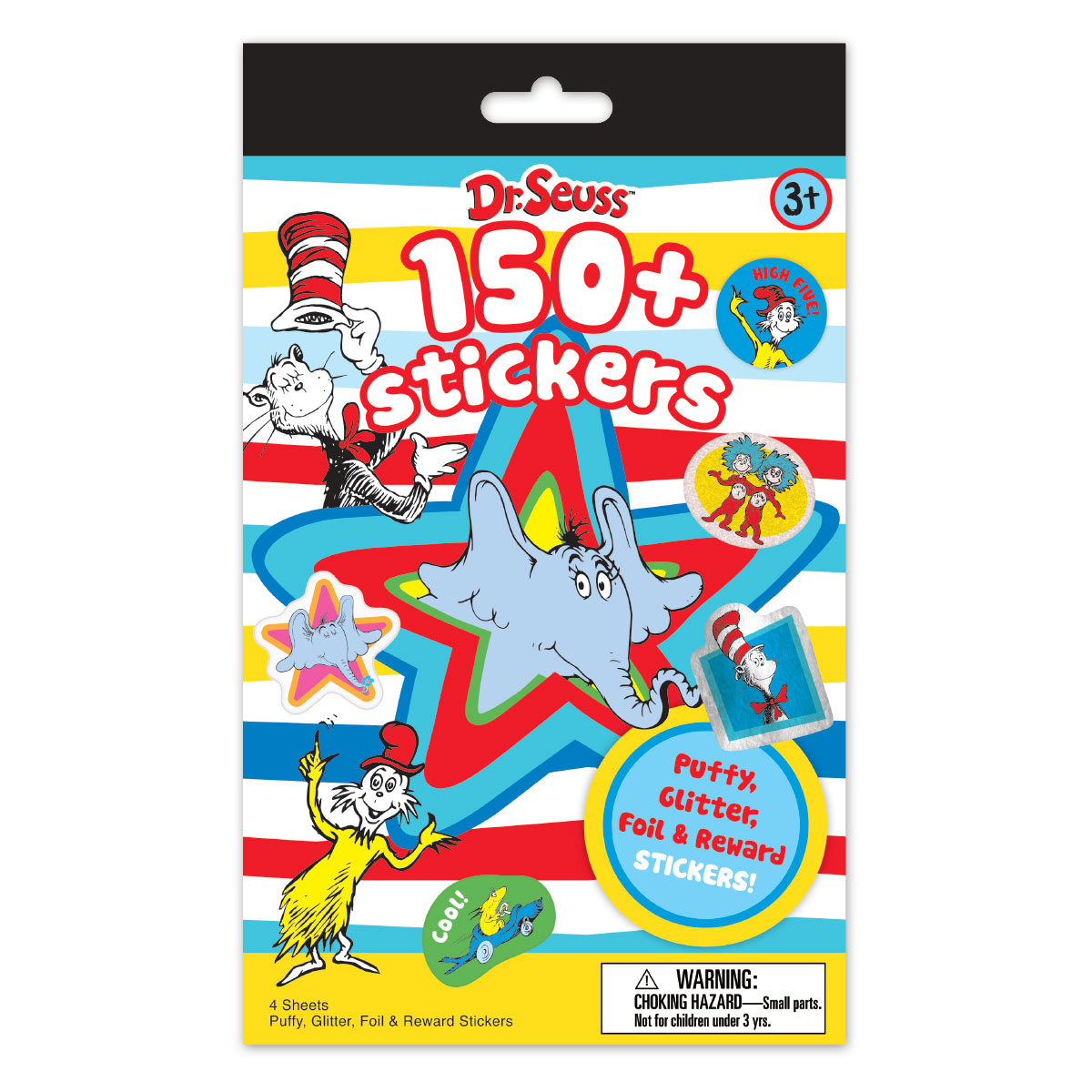 Dr. Seuss 150+ Stickers