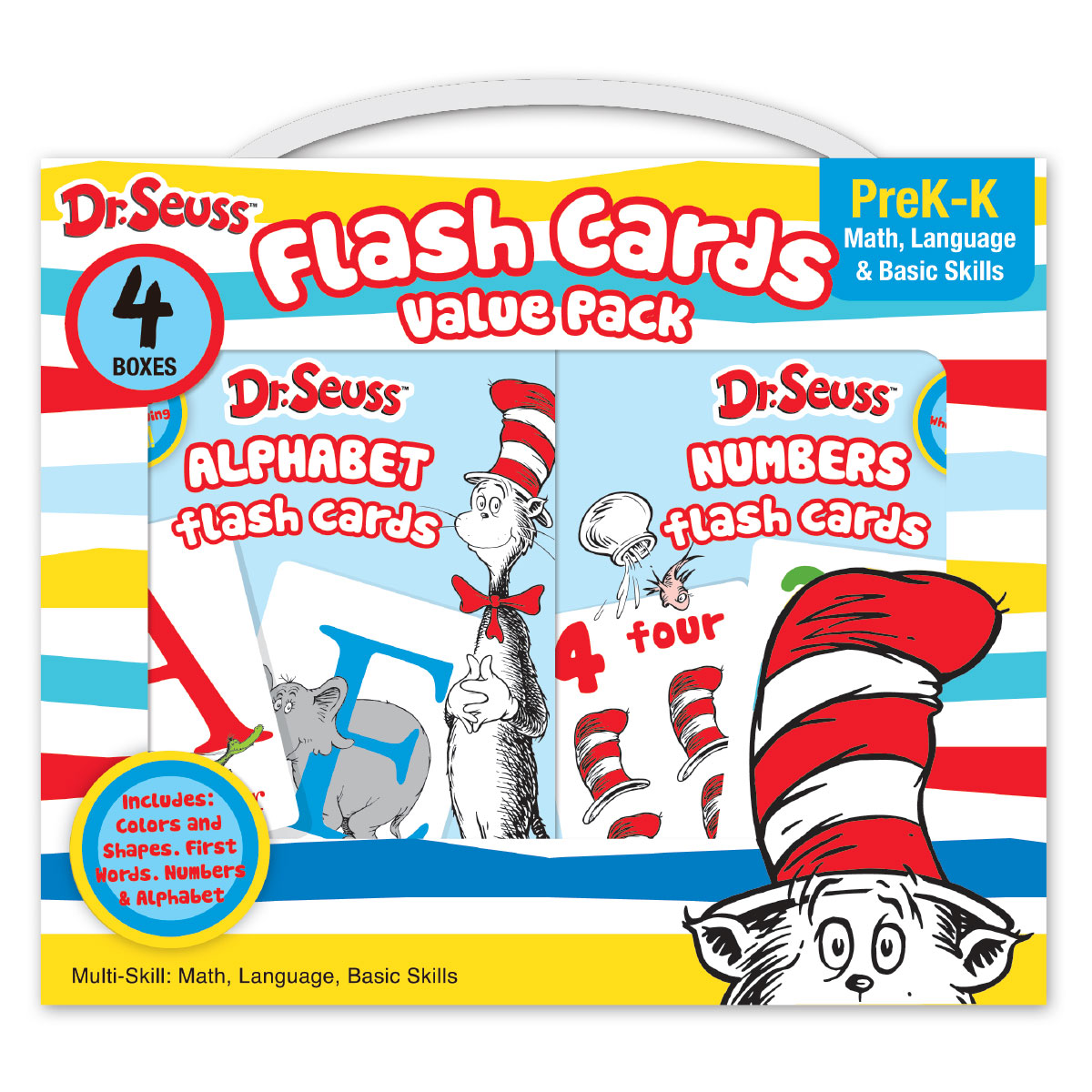 Dr. Seuss Flash Cards Value Pack