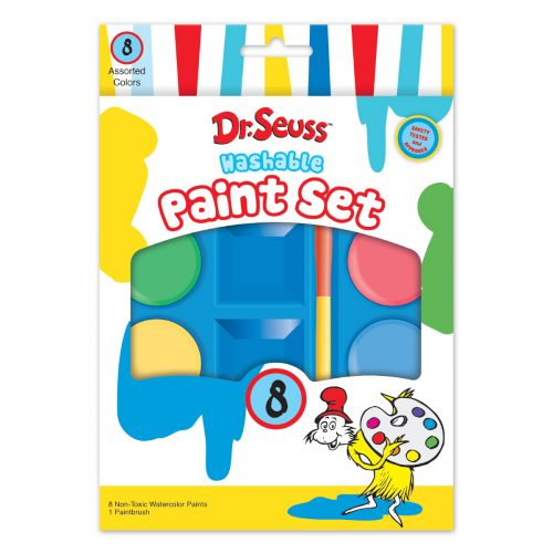 Dr. Seuss 8-Count Paint Set