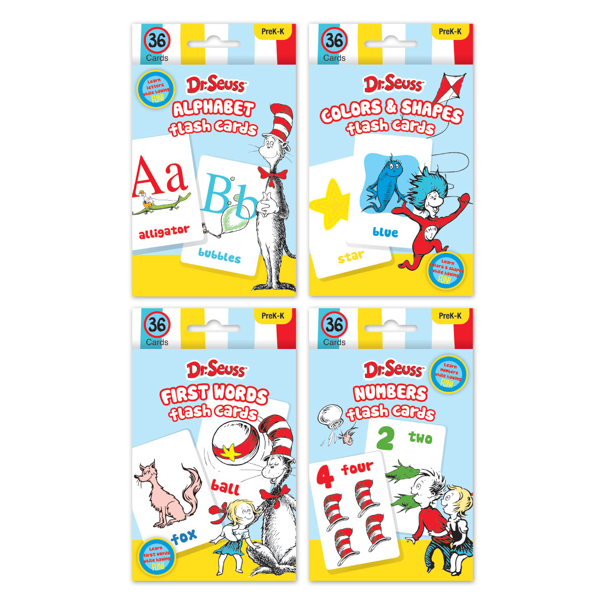 Dr. Seuss Flash Cards Assortment