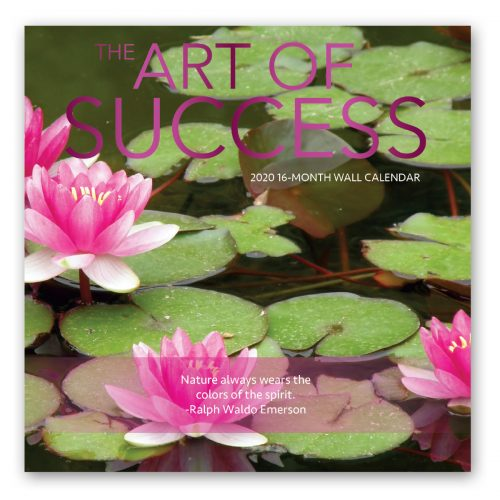 The Art of Success Calendar Front