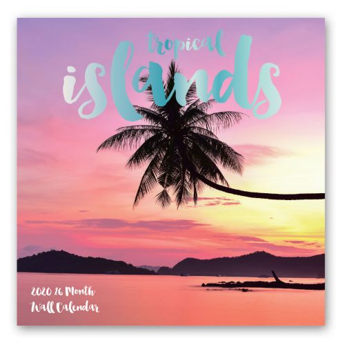 Tropical Islands Calendar Front