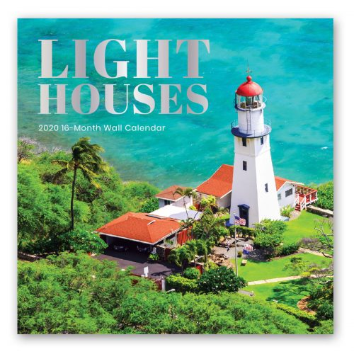 Lighthouses Calendar Front