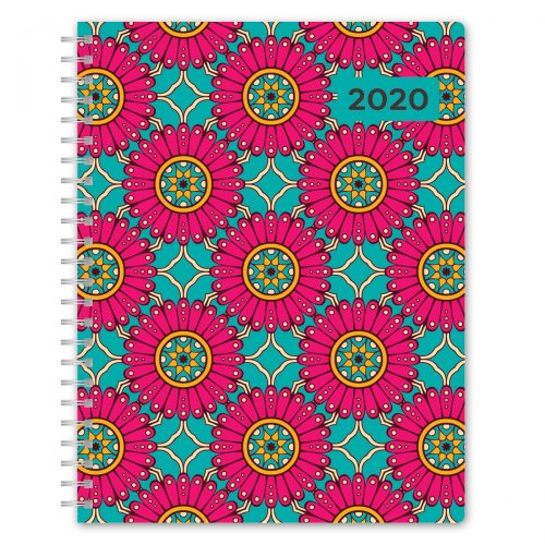 Avalon 2020 Fashion Planner - Large Floral Design