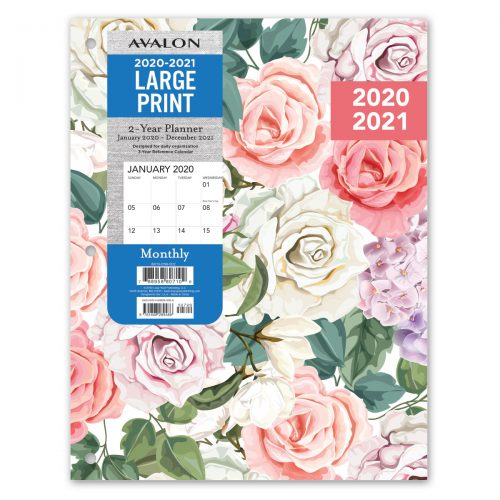 Avalon 2 Year 2020 Floral Planner