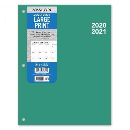Avalon 2-Year 2020 Planner - Blue