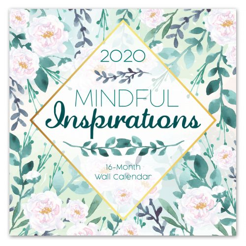 Mindful Inspirations Wall Calendar - Front