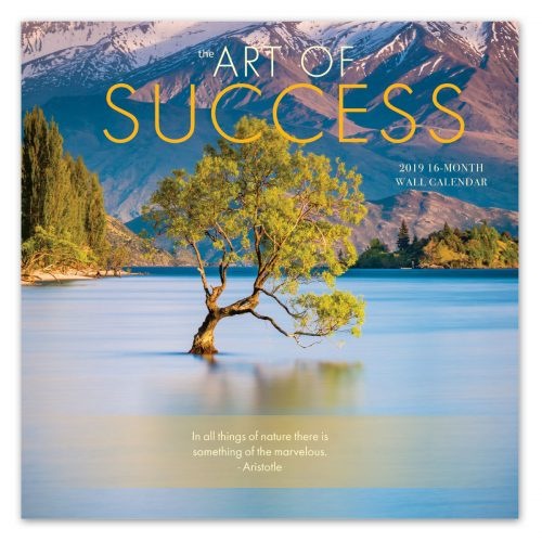 The Art of Success Wall Calendar - Front