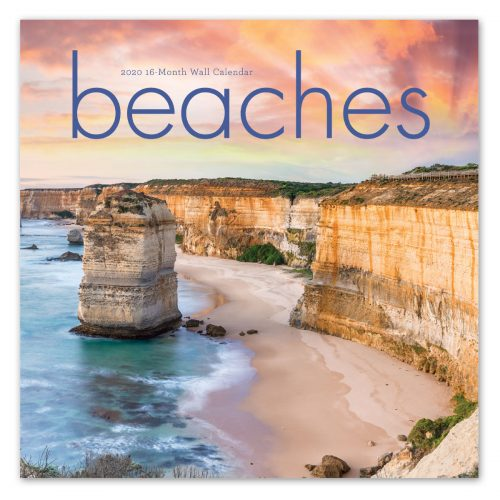 Beaches wall calendar front