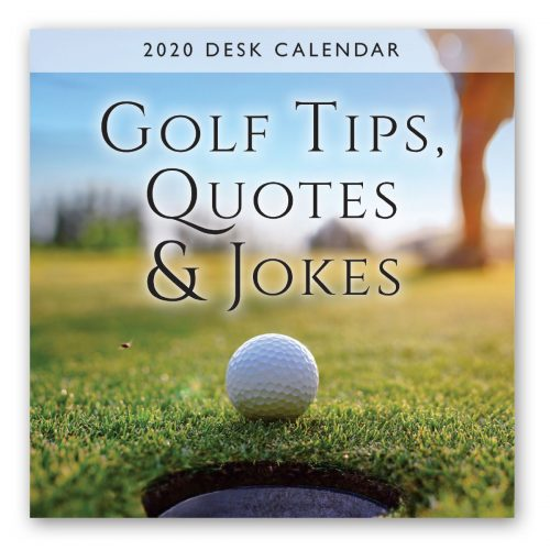 2020 Desk Calendar - Golf Tips