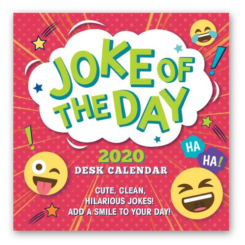 2020 Desk Calendar - Joke of the Day