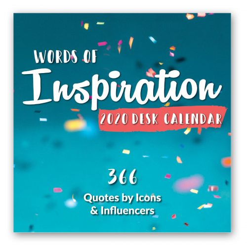 2020 Desk Calendar - Words of Inspiration