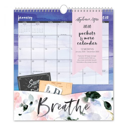 Petal & Light Pockets & More Calendar