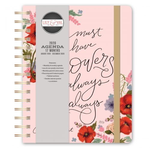 Lily & Val Agenda Front