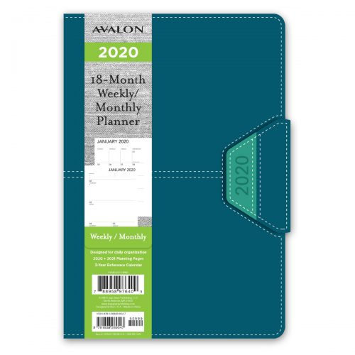 Avalon 2020 Leatherette Planner