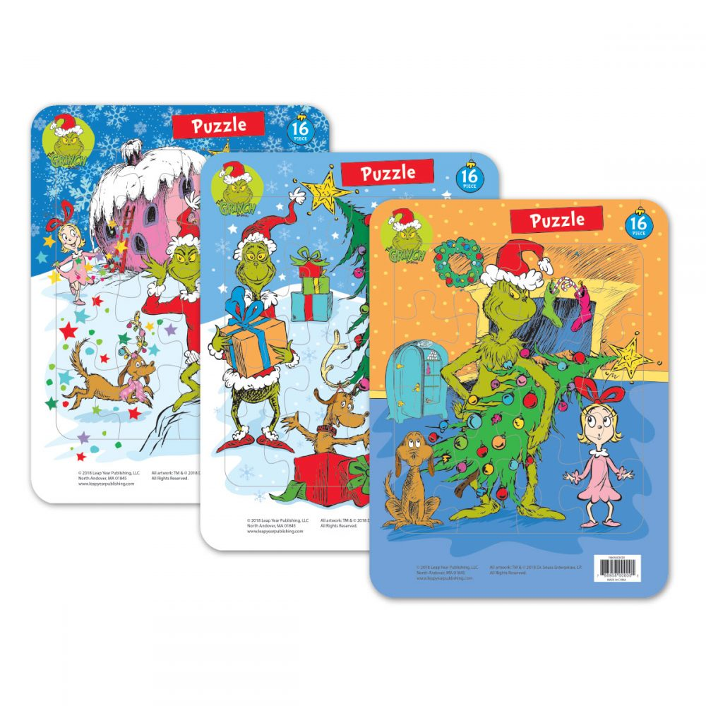 Grinch Frame Tray Puzzles
